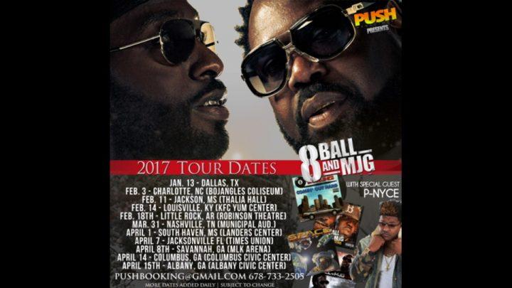 8Ball & MJG 2017 Tour