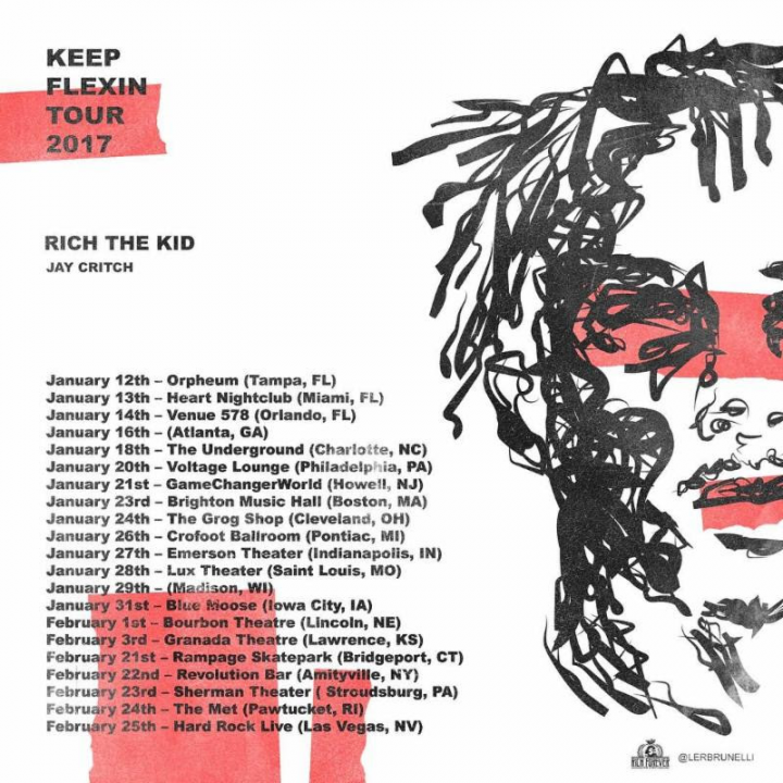 Rich The Kid: Keep Flexin Tour 2017