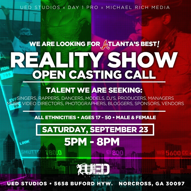 REALITY SHOW OPEN CASTING CALL