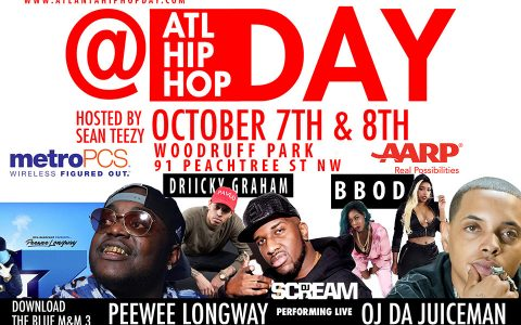 Artists Book Your Space for the 7th Annual Atlanta Hip Hop Day Festival