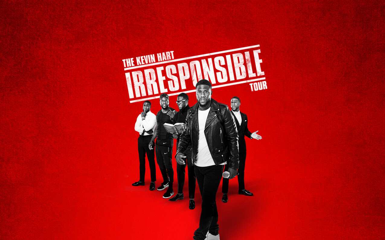 "Kevin Hart ""Irresponsible Tour"" – Kevin Hart 2017-18 Tour Dates"