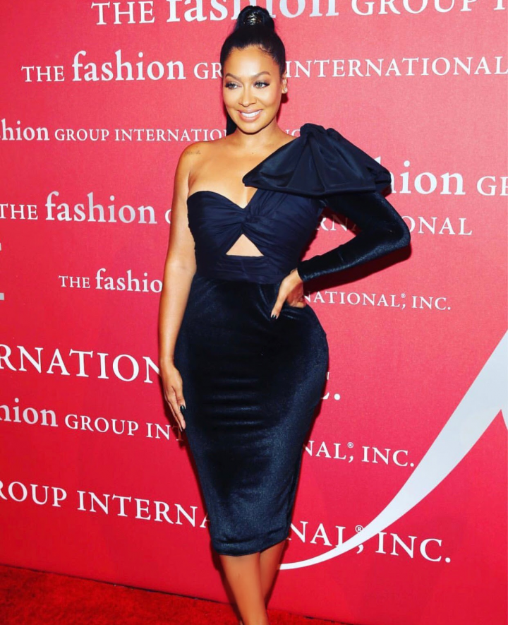 La La Anthony Dazzles at the Fashion Group International Gala