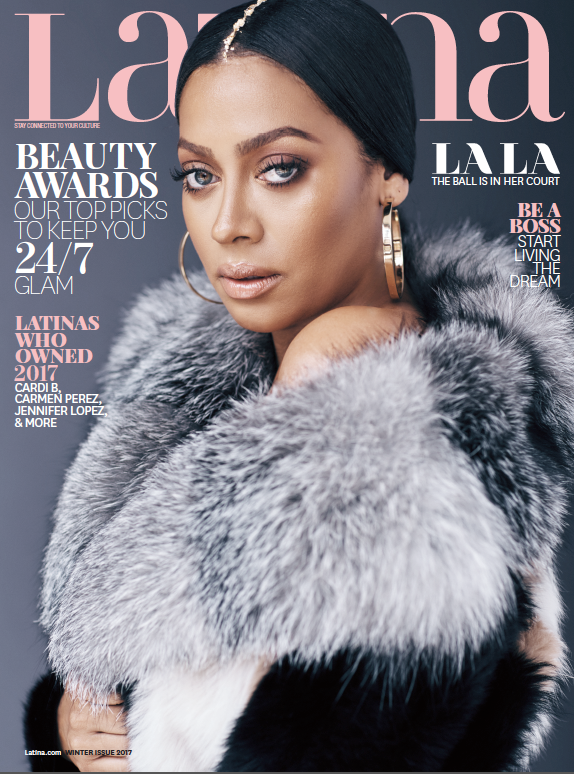 La La Anthony Graces Cover of Latina Magazine's Winter Issue