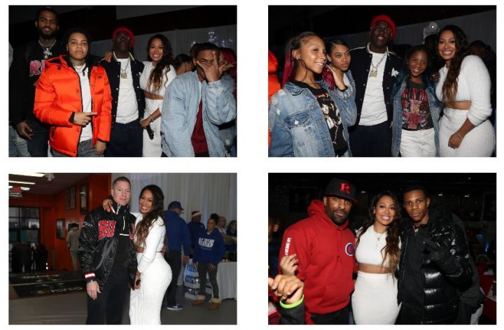 LA LA ANTHONY THROWS STAR-STUDDED HOLIDAY CHARITY EVENT