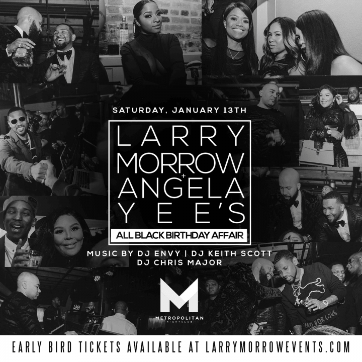 NEW ORLEANS: Kenny Burns, Angela Yee, Tahiry, And More Hosts Larry Morrow All Black Affair at Metropolitan