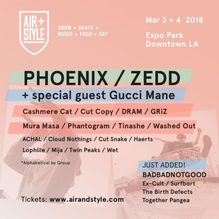 Air + Style Los Angeles Announces 2018 Lineup; Tickets On Sale Now