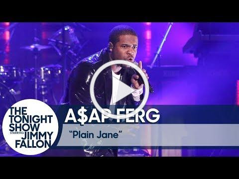 "Ferg Performs on The Tonight Show With Jimmy Fallon, ""Plain Jane"" Certified Platinum, North American Tour Begins Next Month"