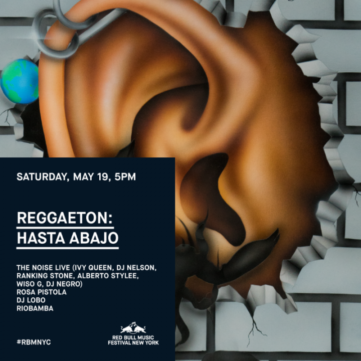 Red Bull Music Festival New York Announces Reggaetón: Hasta Abajo with The Noise (Ivy Queen, DJ Nelson and more)
