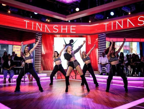 "TINASHE Performs ""No Drama"" on Good Morning America!"
