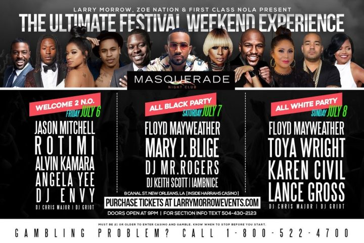ESSENCEFEST18 MIAMITAKEOVER18 DJENVY MARYJBLIGE DJGRIOT
