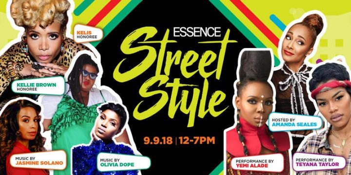 ESSENCE Celebrates Style, Culture, & Community with The 2018 ESSENCE Street Style Festival!