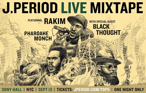 RAKIM, BLACK THOUGHT, PHAROAHE MONCH AND MORE FEATURED @ THE LIVE MIXTAPE