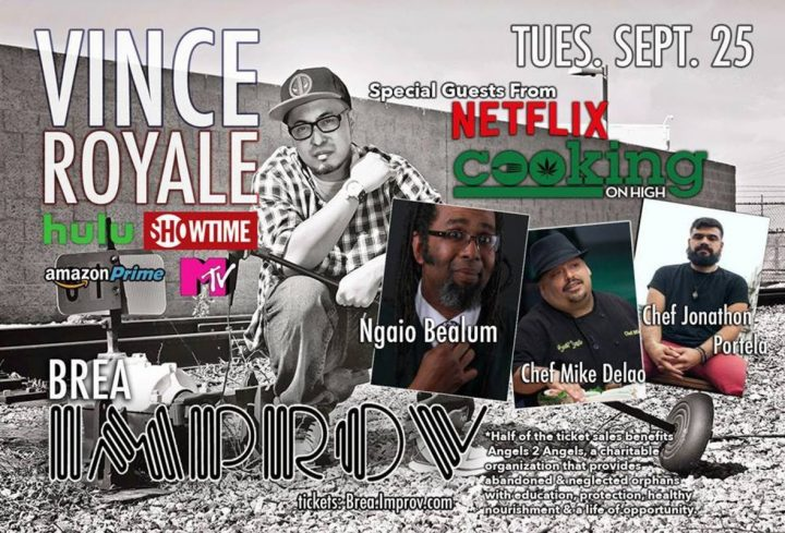 """Cooking on High"" Comedy Night at Brea Improv: Netflix Cannabis Comptition Cooking Show Cast gets the Comedy Going Tuesday"