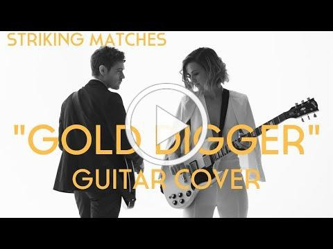 """Watch duo Striking Matches rap Kanye's West's """"Gold Digger"""" on their guitars"""