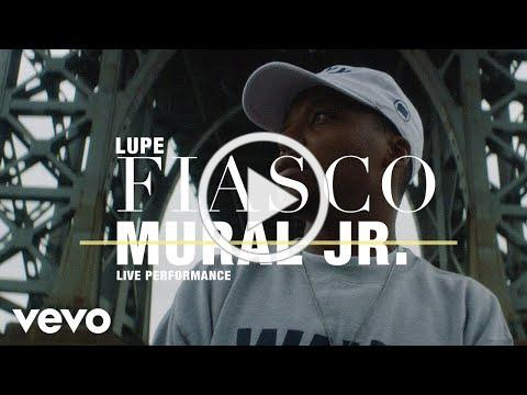 Lupe Fiasco live performance of Mural Jr. for Vevo
