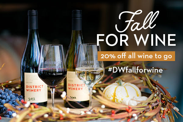 Fall for WINE🍷 with 20% off ALL Wines
