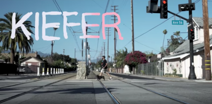 "Beat maker / pianist Kiefer shares blissed out ""What A Day"" video + on US tour now"