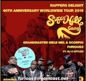 HIP HOP HISTORY: SUGARHILL GANG & FURIOUS FIVE CELEBRATE UNION