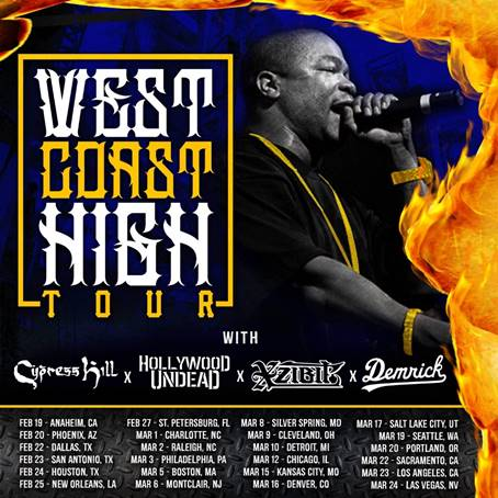 Xzibit To Join Cypress Hill on West Coast High Tour