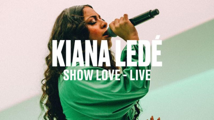 Kiana Ledé shares exclusive live performances for Vevo DSCVR series