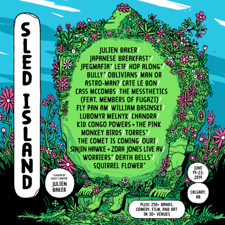 Sled Island Music & Arts Festival Announces First Wave of 2019 Artists