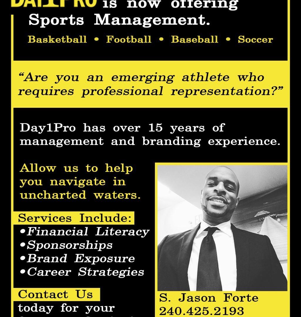 Day1Pro is now offering Sports Management