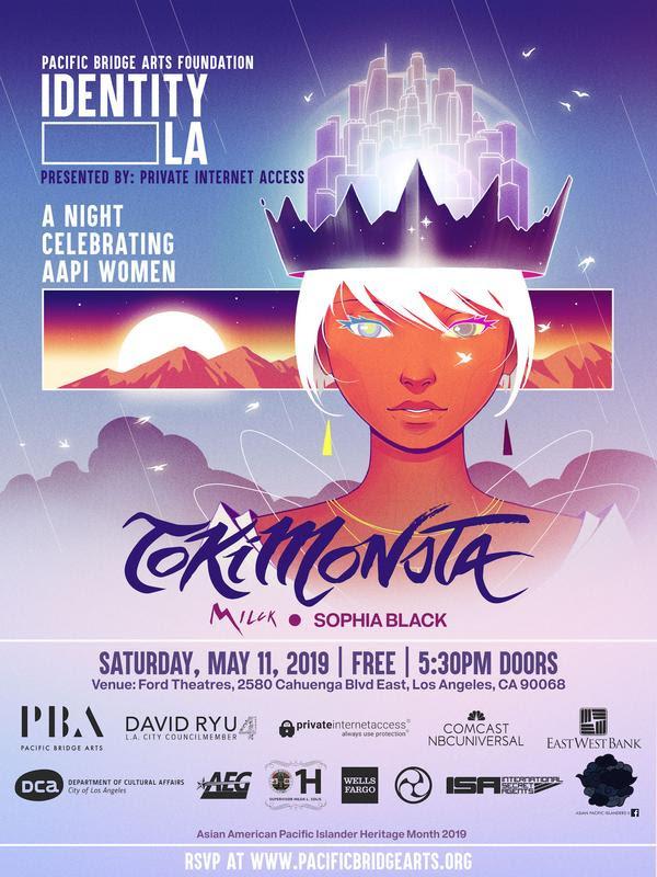 IDENTITY LA concert featuring TOKiMONSTA, MILCK, Sophia Black and more