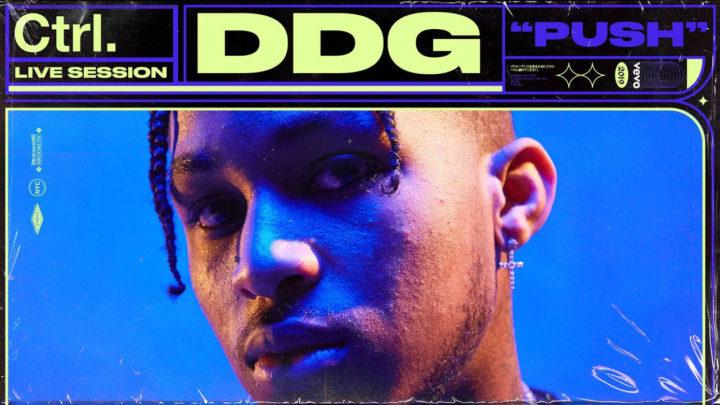 Vevo presents DDG live performance for Ctrl series
