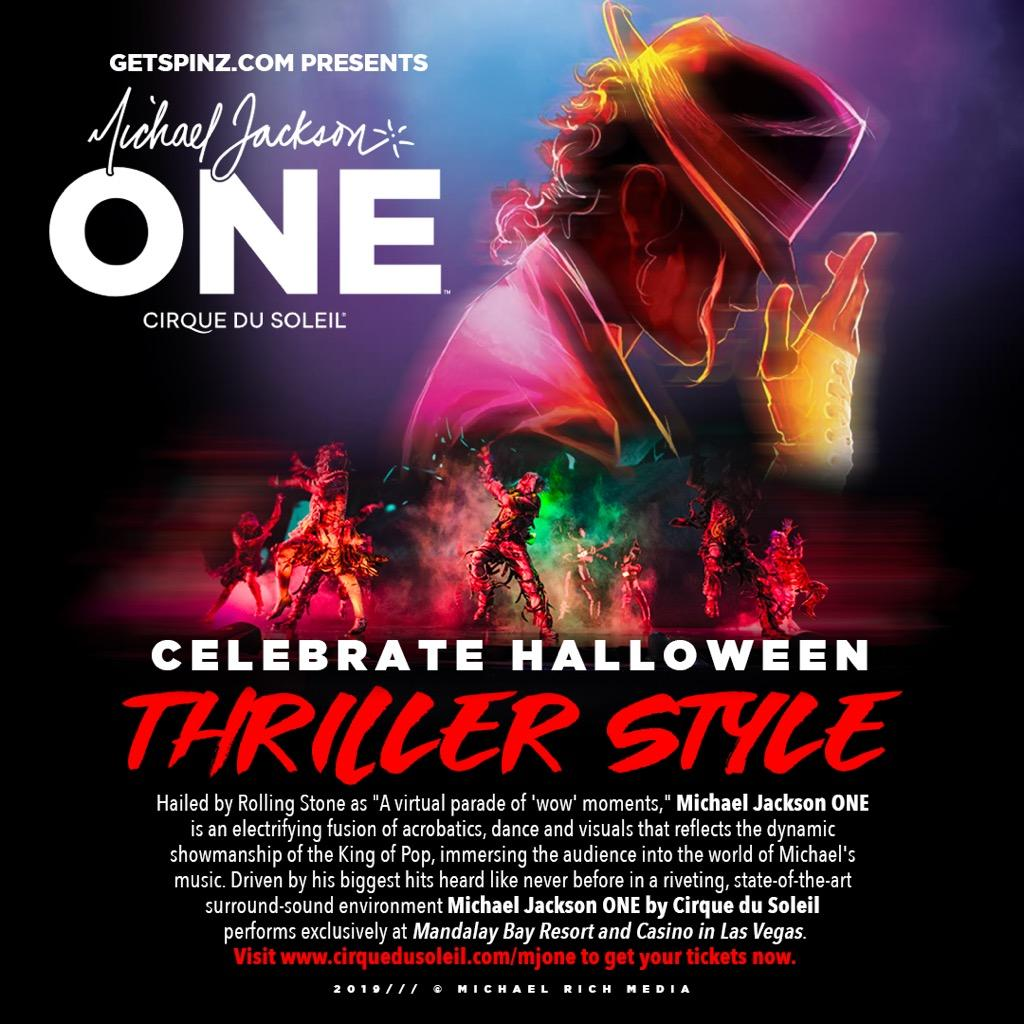 Michael Jackson One by Cirque du Soleil Halloween