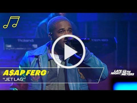 "A$AP Ferg Performs ""Jetlag"" On The Late Show With Seth Meyers"