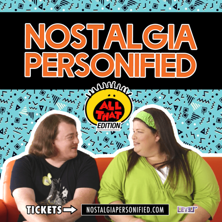 Nickelodeon's ALL THAT Cast Members Danny Tamberelli and Lori Beth Denberg Hit The Road with NOSTALGIA PERSONIFIED