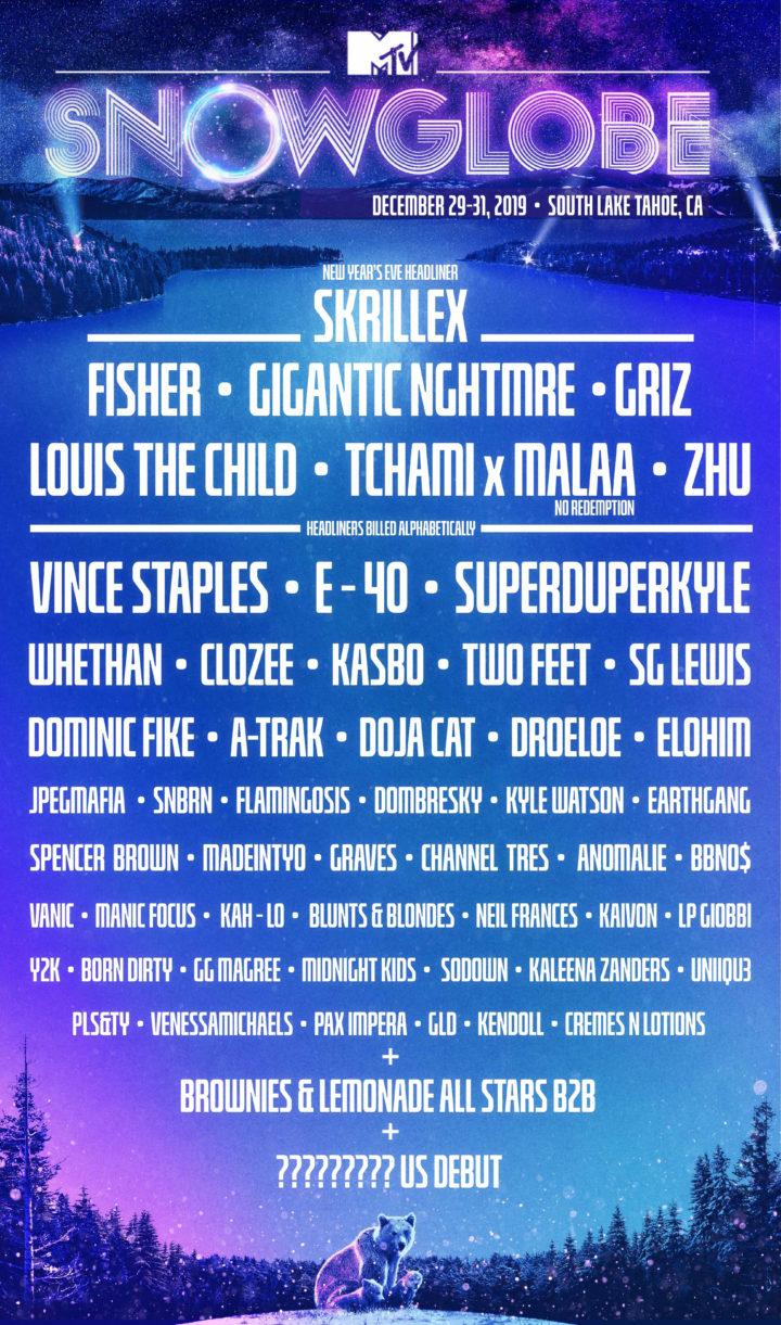 MTV adds Lil Tecca to SnowGlobe Music Festival Lineup