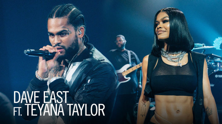 DAVE EAST & TEYANA TAYLOR ROCK THE LATE LATE SHOW WITH JAMES CORDEN