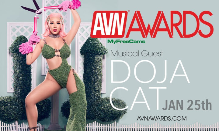 DOJA CAT ADDED TO 2020 AVN AWARDS MUSICAL LINE-UP