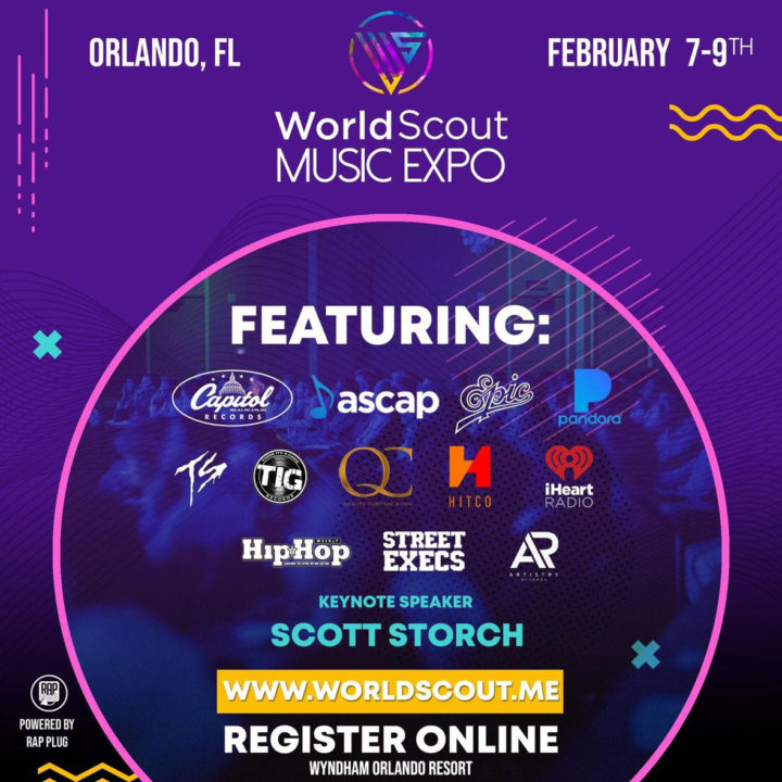 WorldScout Music Expo Feb 8-9 2020 ~Opportunity! Education! Exposure! Discovery!