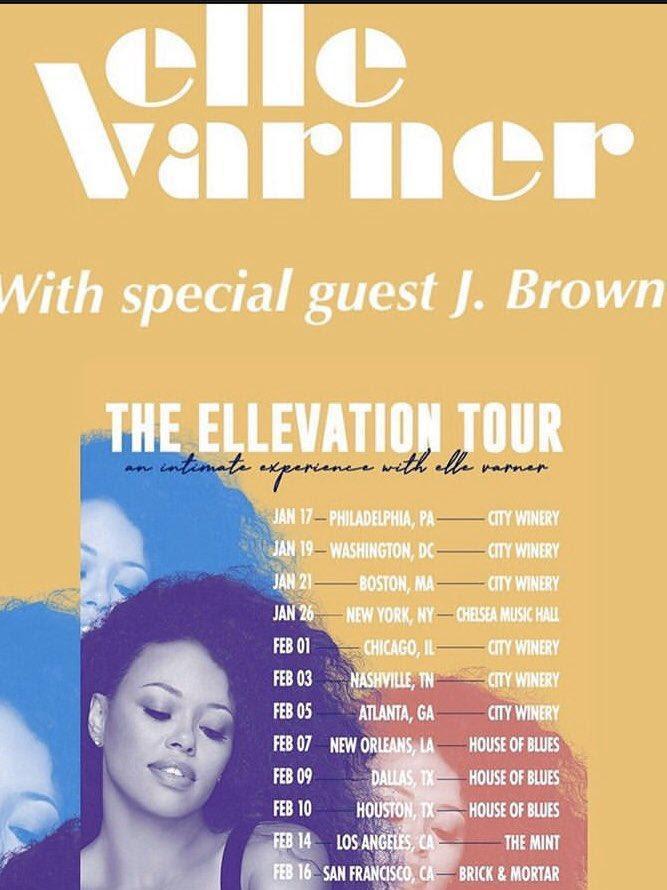 "Billboard Chart-topping Recording Artist J. BROWN Releases New Single, ""MOON"" / Kicks off THE ELLEVATION TOUR w/ ELLE VARNER"