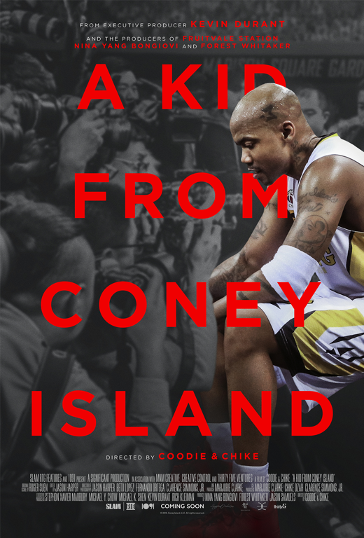 A KID FROM CONEY ISLAND, DOCUMENTARY BASED ON THE LIFE OF FORMER FAMED NBA PLAYER STEPHON MARBURY, DEBUTS OFFICIAL TRAILER & KEY ART