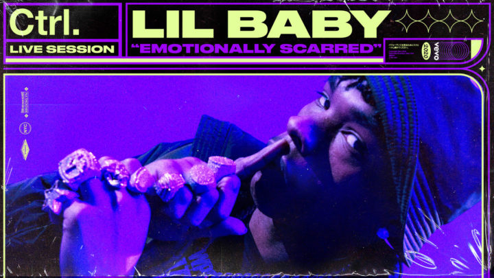 Lil Baby performs Emotionally Scarred with Vevo