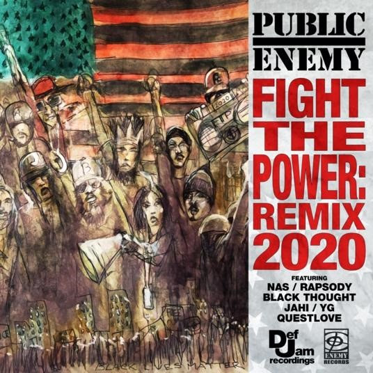 "Public Enemy Returns to Def Jam, Drops ""Fight The Power (REMIX 2020)"" Today, Album Coming Sept. 25"