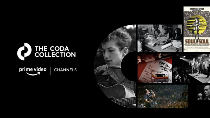 New Multi-Media Company, The Coda Collection, Launches Exclusive Channel On Amazon Prime Video And A Dedicated Music Editorial Website Offering Curated Library Of Rare And Never-Before-Seen Concerts, Newly Created Documentaries, Archival Performances